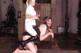 Vrhush თავმჯდომარე, Sybil, licking ენა ვირტუალური რეალობა ქალ-კაცა